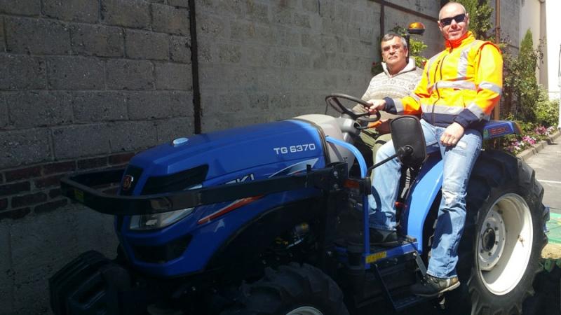 Un tracteur design et moderne